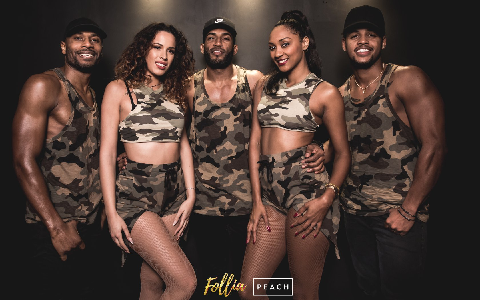 Follia Latina FUEGO al Peach Club